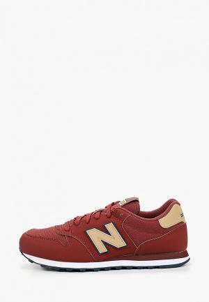Кроссовки New Balance 500v1. Цвет: коричневый