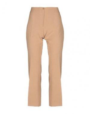 Повседневные брюки MARCELLO SANGIORGI. Цвет: верблюжий