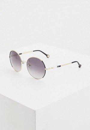 Очки солнцезащитные Carolina Herrera 152-301. Цвет: черный