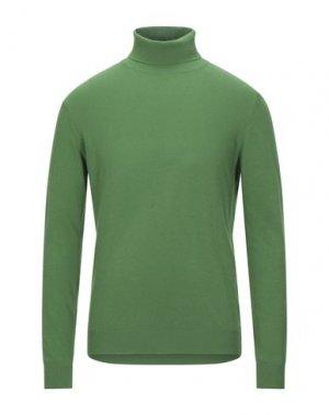 Водолазки EXTE. Цвет: зеленый