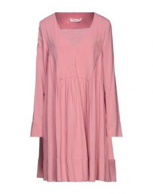 Короткое платье LIVIANA CONTI. Цвет: розовый
