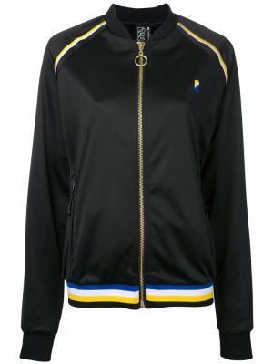 Куртка-бомбер Strike Out P.E Nation. Цвет: чёрный