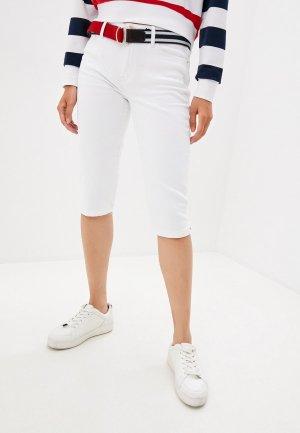 Шорты джинсовые Tommy Hilfiger VENICE. Цвет: белый