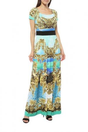 Платье Anna Rachele. Цвет: золотой