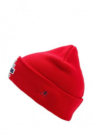 Шапка Atributika & Club™ NHL Washington Capitals. Цвет: красный