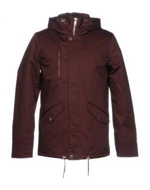 Куртка ELVINE. Цвет: красно-коричневый