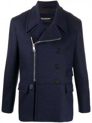 Двубортный пиджак Neil Barrett. Цвет: синий