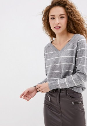 Пуловер Vis-a-Vis. Цвет: серый