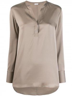 Атласная блузка Filippa K. Цвет: нейтральные цвета