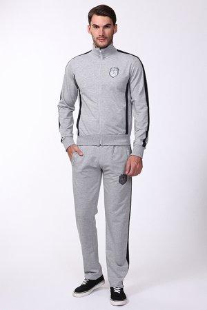 Спортивный костюм Frankie Morello. Цвет: серый