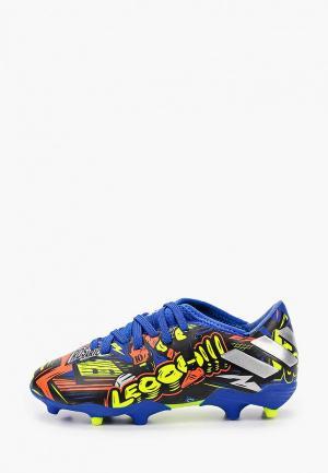 Бутсы adidas NEMEZIZ MESSI 19.3 TF. Цвет: разноцветный
