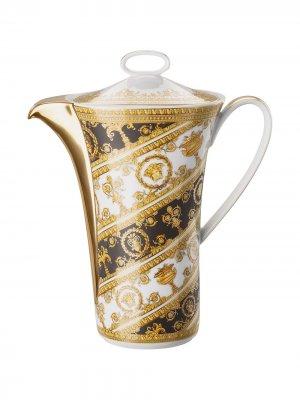 Кофейник Baroque Rhapsody Versace. Цвет: желтый