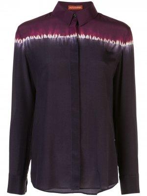Рубашка на пуговицах в стиле колор-блок Altuzarra. Цвет: фиолетовый