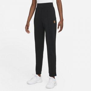 Женские трикотажные теннисные брюки Court Dri-FIT - Черный Nike