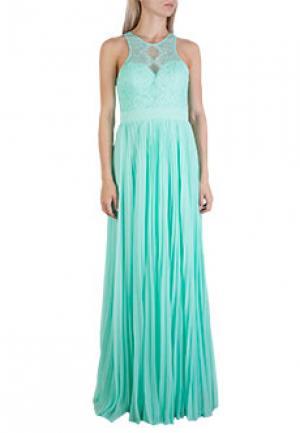 Платье FOREVER UNIQUE. Цвет: зеленый