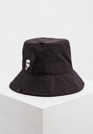 Панама Karl Lagerfeld IKONIK. Цвет: черный