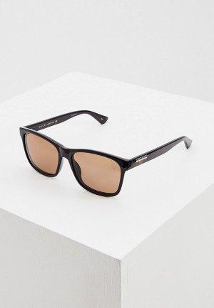Очки солнцезащитные Gucci GG0746S 002. Цвет: коричневый