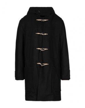 Пальто BAND OF OUTSIDERS. Цвет: черный
