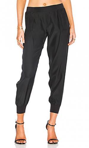 Спортивные брюки ручной работы ATM Anthony Thomas Melillo. Цвет: черный