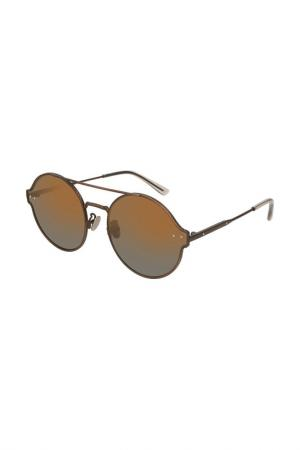 Очки солнцезащитные Bottega Veneta. Цвет: 003