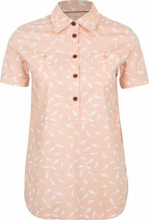 Рубашка женская , размер 46 Merrell. Цвет: розовый