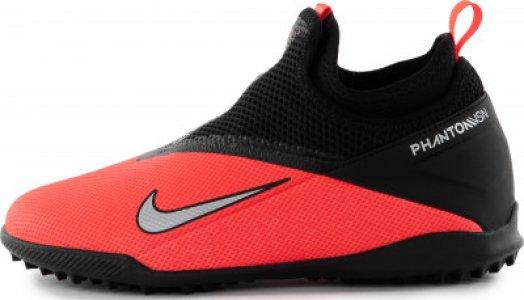 Бутсы для мальчиков Phantom Vision 2 Academy Dynamic Fit TF, размер 36.5 Nike. Цвет: красный