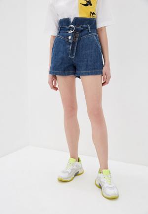 Шорты джинсовые Pinko. Цвет: синий
