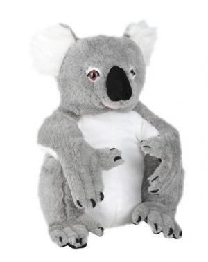 Куклы и мягкие игрушки MELISSA & DOUG. Цвет: серый