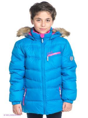Куртка Kamik. Цвет: голубой