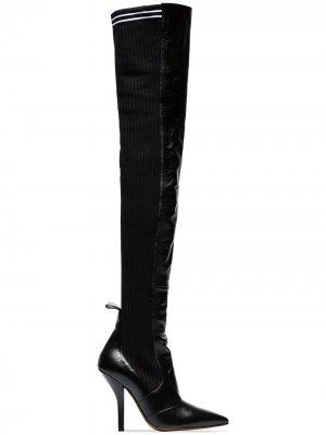 Ботфорты Rockoko 105 Fendi. Цвет: черный
