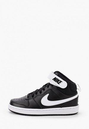 Кеды Nike COURT BOROUGH MID 2 (GS). Цвет: черный
