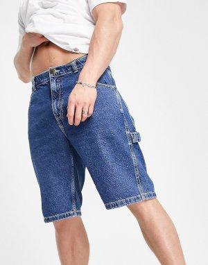 Синие джинсовые шорты Garyville-Голубой Dickies