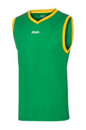 Майка баскетбольная Jogel. Цвет: зеленый, желтый