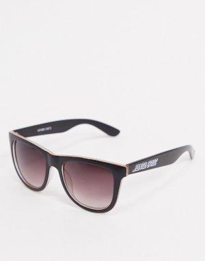 Черные/оранжевые солнцезащитные очки Bench-Черный Santa Cruz