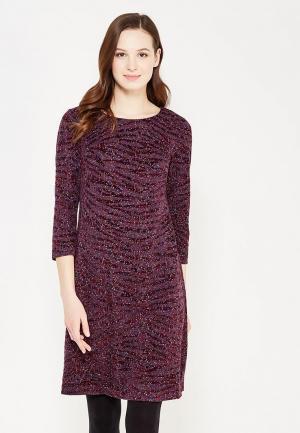 Платье Key. Цвет: бордовый