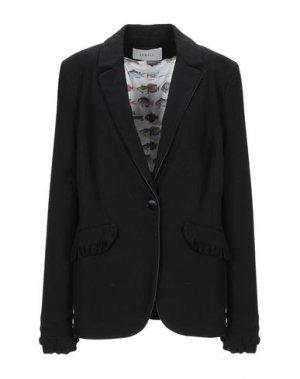 Пиджак JANICE. Цвет: черный