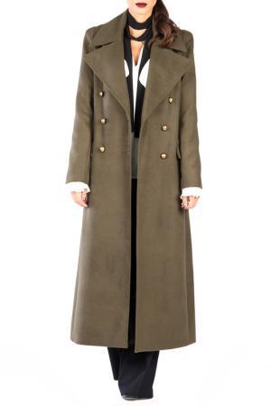 Пальто CARLA BY ROZARANCIO. Цвет: зеленый