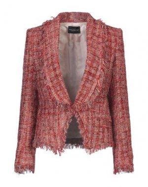 Пиджак ATOS LOMBARDINI. Цвет: коралловый