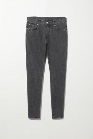 Зауженные джинсы Cone Weekday. Цвет: черный
