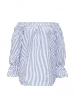 Блуза Brigitte Bardot. Цвет: голубой