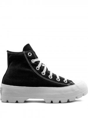 Высокие кеды CTAS Converse. Цвет: черный