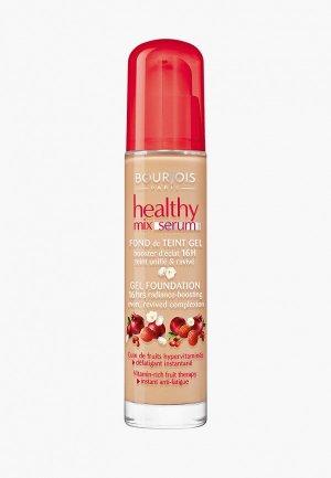 Тональное средство Bourjois Healthy Mix Serum foundation, 52 Vanille, 30 мл. Цвет: бежевый
