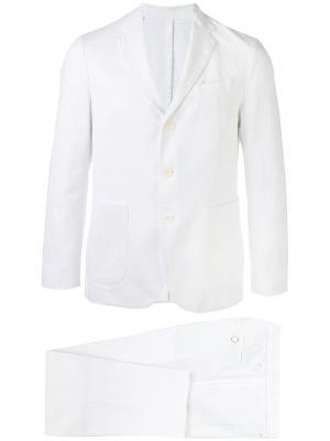 Вечерний костюм Doppiaa. Цвет: белый