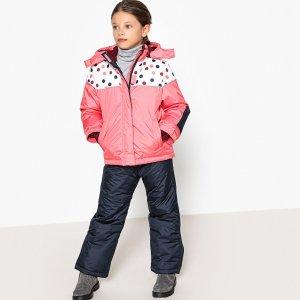 Комплект лыжный для девочки 3-12 LaRedoute. Цвет: розовый