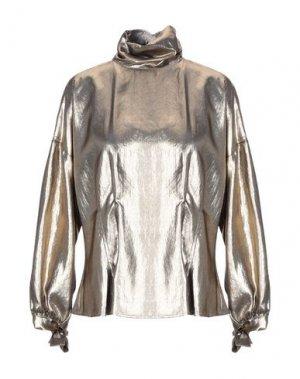Блузка 8PM. Цвет: бронзовый