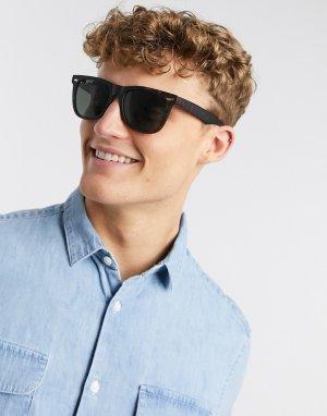Солнцезащитные очки в стиле ретро -Светло-коричневый New Look