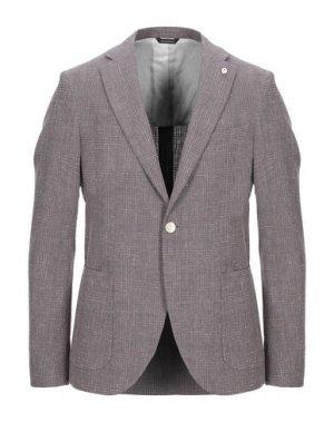 Пиджак GAZZARRINI. Цвет: светло-фиолетовый