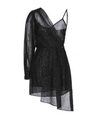 Короткое платье RELISH. Цвет: черный