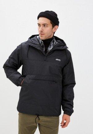 Куртка утепленная Anteater long-black. Цвет: черный