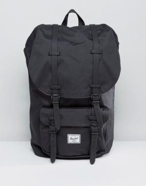 Черный рюкзак Little America 25L Herschel Supply Co